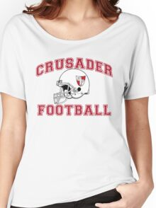 Crusader Football - Red Women's Relaxed Fit T-Shirt