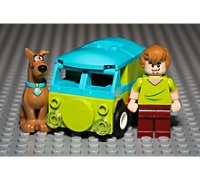 Scooby, Shaggy and the Machine Photographic Print