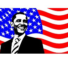 PRESIDENT BARACK OBAMA Photographic Print
