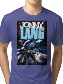 JONNY LANG TOUR Tri-blend T-Shirt