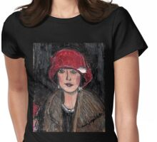 The Red Hat 1920's #1 in a Series Womens Fitted T-Shirt