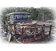 Aged Toyota Photographic Print