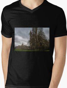 Cambridge, King's College 7 Mens V-Neck T-Shirt