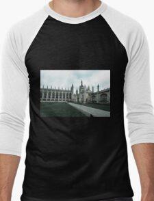 Cambridge, King's College 8 Men's Baseball ¾ T-Shirt