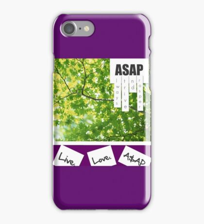 Live.Love.A$AP iPhone Case/Skin