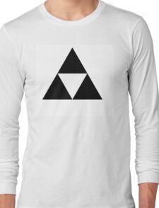 Black triforce Long Sleeve T-Shirt