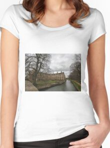 Cambridge, King's College 8 Women's Fitted Scoop T-Shirt