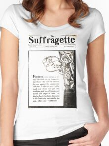 The Suffragette Women's Fitted Scoop T-Shirt