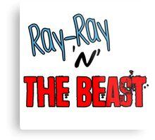 Ray-Ray 'n' The BEAST Metal Print