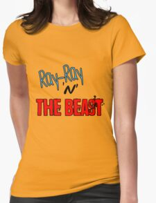 Ray-Ray 'n' The BEAST Womens Fitted T-Shirt