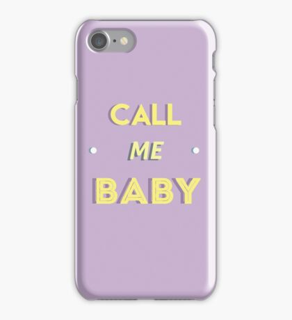 Exo - Call Me Baby iPhone Case/Skin