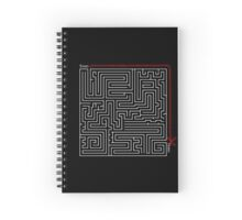 The Weirdist Maze Spiral Notebook