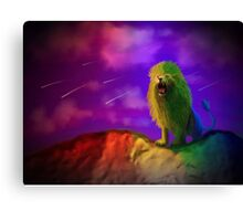 Grograman, the many-colored death Canvas Print