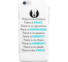 Jedi Code iPhone Case/Skin