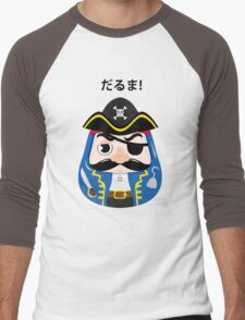 Pirates Daruma Men's Baseball ¾ T-Shirt