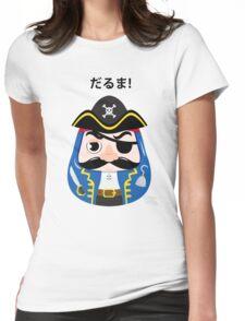 Pirates Daruma Womens Fitted T-Shirt