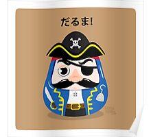 Pirates Daruma Poster