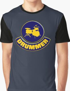 Cool Drummer Graphic T-Shirt