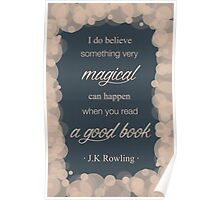 JK Rowling Quote 2 - Ravenclaw Color Poster