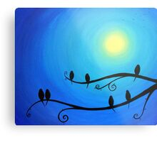 Roots & Wings (yellow sun) Metal Print