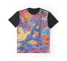 Eiffel's tower Graphic T-Shirt