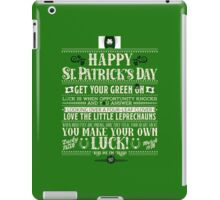 Lucky to have you! iPad Case/Skin