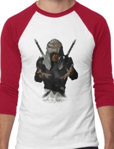 The Dark Queen Men's Baseball ¾ T-Shirt