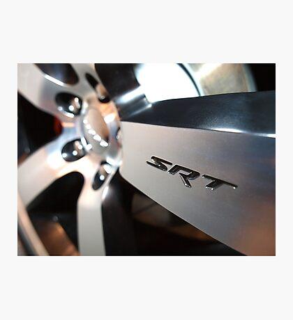 2012 Dodge Challenger Rim Detail Photographic Print