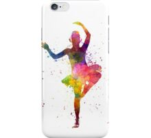 Little girl ballerina ballet dancer dancing iPhone Case/Skin