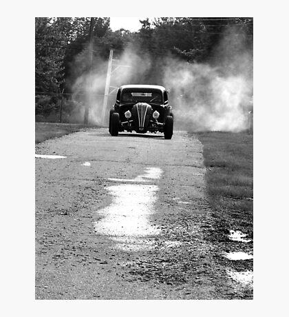 Burnout! Photographic Print