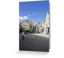 Water Street, Bakewell Greeting Card