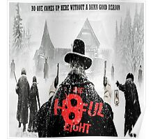 The Hateful Eight 2015 jembut Poster