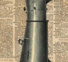 Robo Hand,Artifical Arm Dictionary Art Sticker