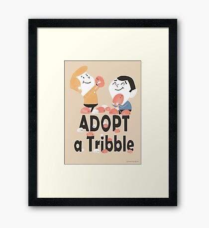 Adopt a Tribble Framed Print