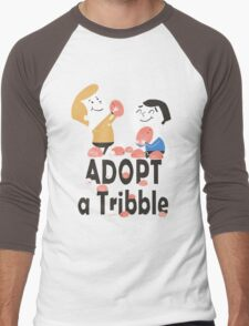 Adopt a Tribble Men's Baseball ¾ T-Shirt