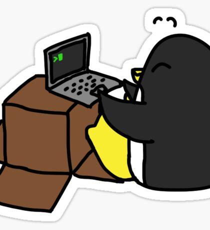 Jim the Linux Penguin Sticker
