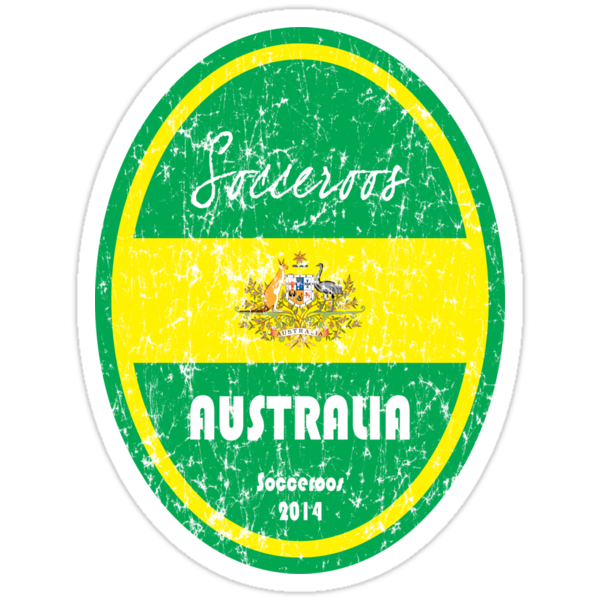 World Cup Football - Australia (distressed) by madeofthoughts