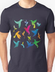 Cute Colorful Birds T-Shirt