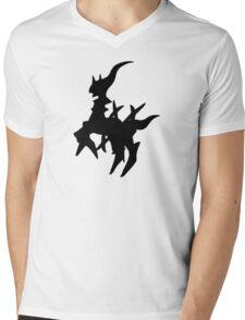 Arceus Silhouette Mens V-Neck T-Shirt