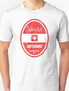 World Cup Football - Switzerland Unisex T-Shirt