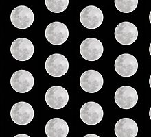 Polka Dot Moons! by Hayden Di Bona