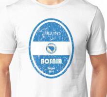 World Cup Football - Bosnia and Herzegovina Unisex T-Shirt
