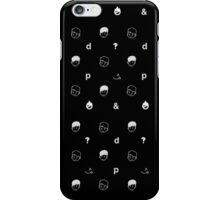 black sesame iPhone Case/Skin