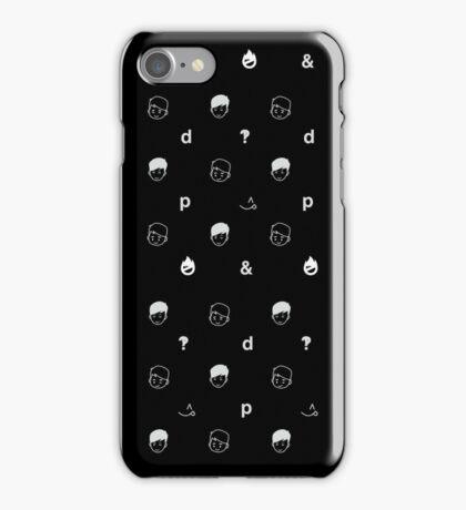 black sesame iPhone Case/Skin