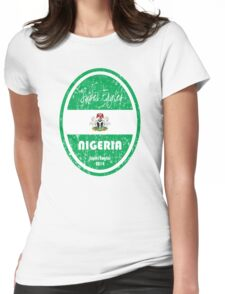 World Cup Football - Nigeria Womens Fitted T-Shirt