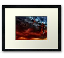 Between Heaven And Hell Framed Print