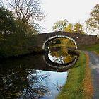 Bridge on Leeds Liverpool Canal by Margaret Brown
