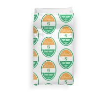 World Cup Football - Ivory Coast Duvet Cover