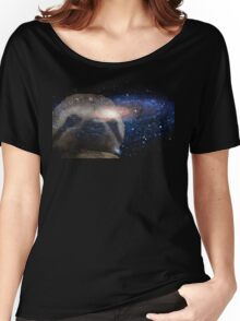 Sloth space Women's Relaxed Fit T-Shirt