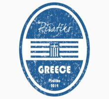 World Cup Football - Greece Kids Tee